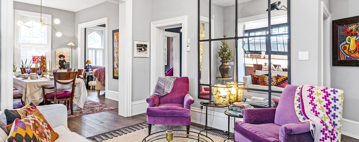 7 Trending Colours for Living Rooms