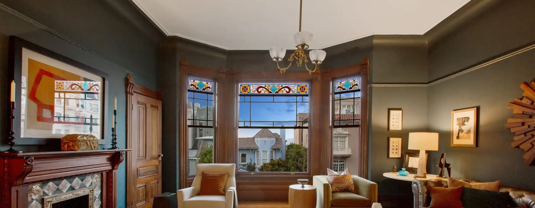 Glamorous Glass | 5 Homes With Stained-Glass Windows