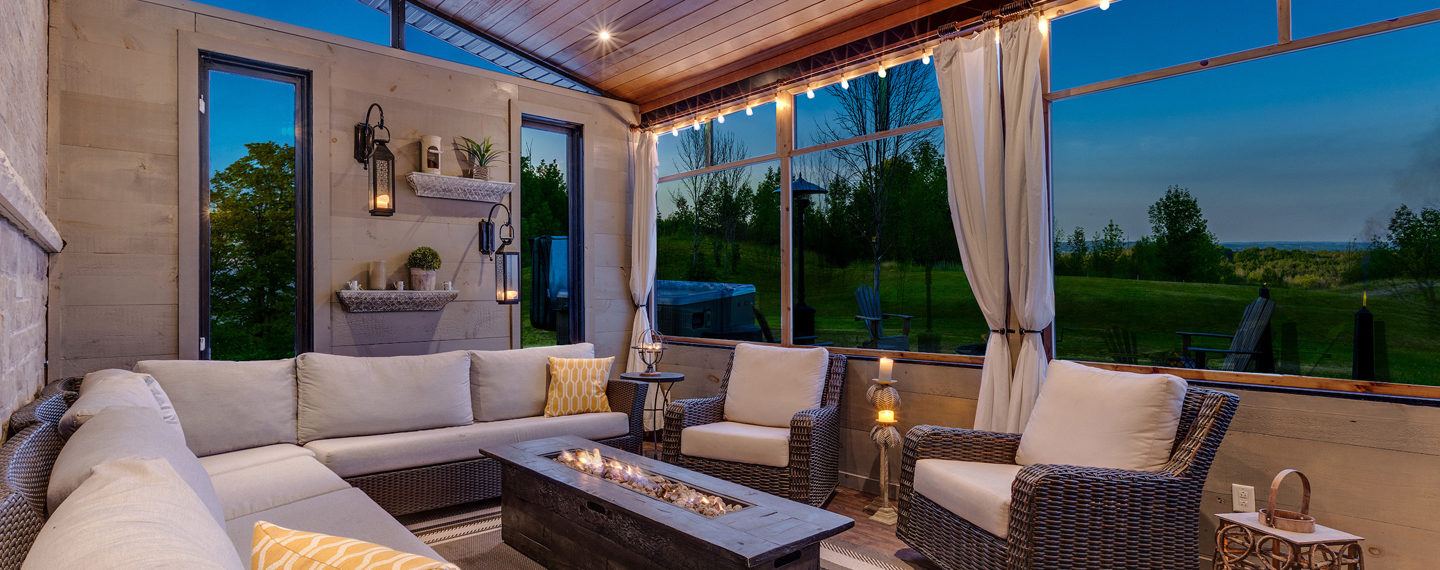How to Turn Your Patio Into a Cozy Fall Retreat
