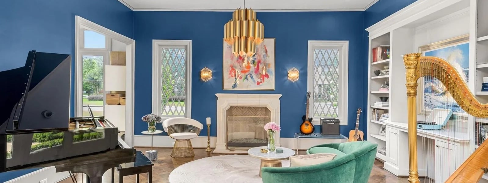 The Bold And The Beautiful: 5 Homes With Eye-Catching Interior Paint