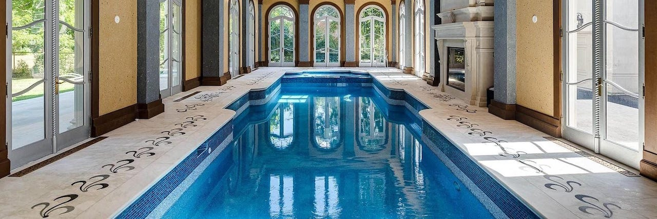 Toronto Homes with Indoor Swimming Pools